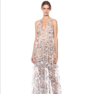 Dress the population 🔥NWT. Embellished gown.  L